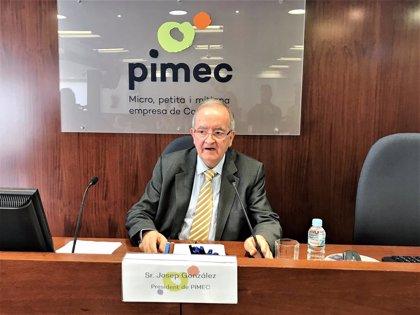 """Pimec pide """"habilidad"""" para aprobar los Presupuestos del Estado y de la Generalitat"""