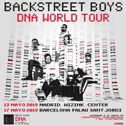 Backstreet Boys: Entradas desde 61,5 hasta 117,5 euros para sus conciertos en Madrid y Barcelona
