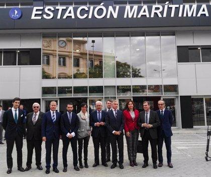 La remodelada estación marítima de Málaga capital registrará este año un aumento de pasajeros y prevé llegar a 350.000