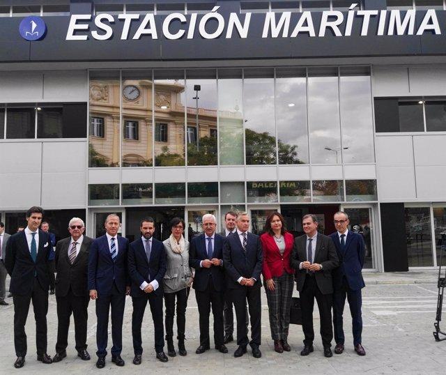 Presentación de la estación marítima de Málaga