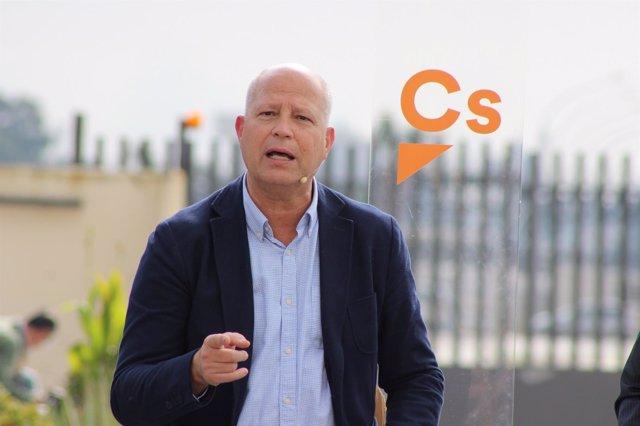 Javier Imbroda ciudadanos por Málaga al parlamento andaluz