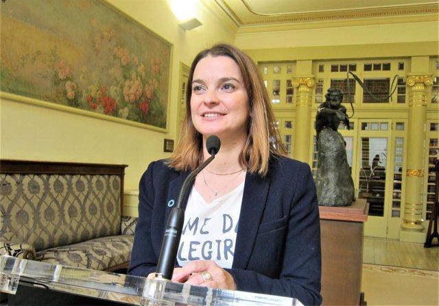 La portavoz del PP en el Parlament, Margalida Prohens