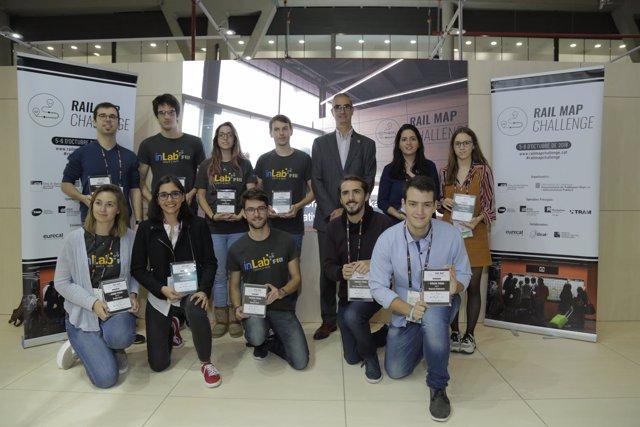 Los ganadores del 'Rail Map Challenge' en el Smart City Expo