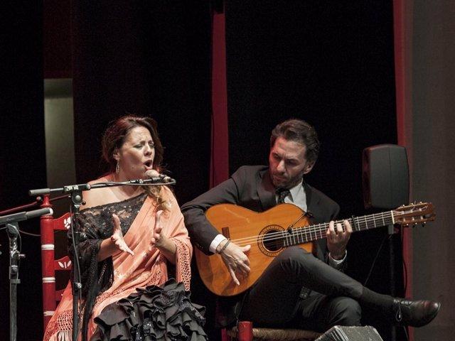 Cantaores homenaje a juan breva en diputación día del flamenco