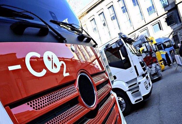 Foto recurso de camiones