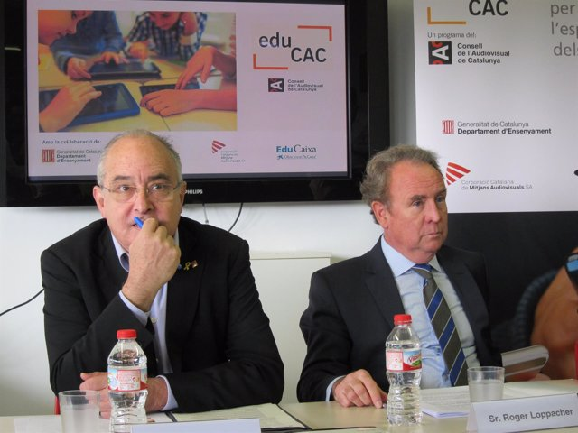 Josep Bargalló y Roger Loppacher