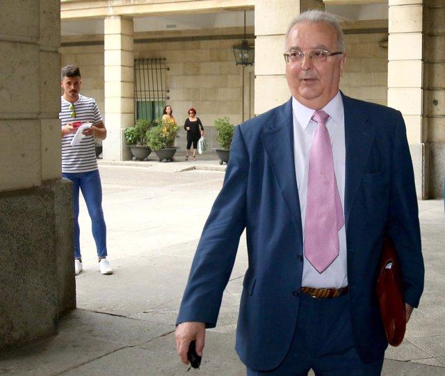 El exconsejero de Empleo Antonio Fernández acude al juicio de los ERE