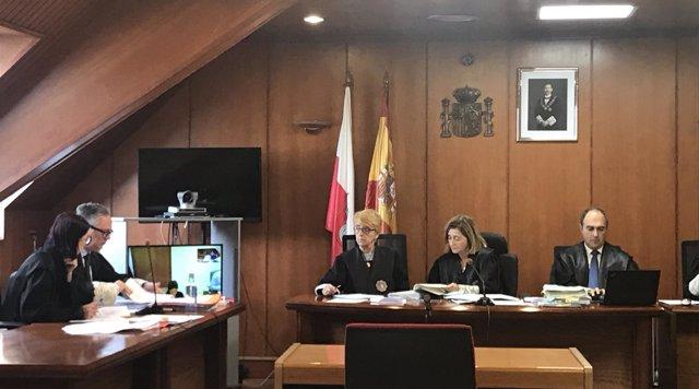 Segunda sesión del juicio contra acusada con Munchaussen que casi mata a su hija