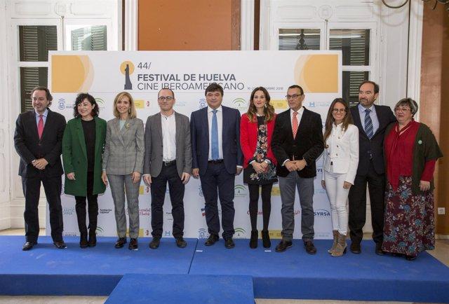 Presentación de la 44 edición del Festival de Huelva.