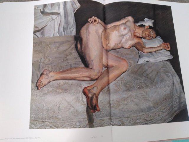 El último cuadro subastado de Lucian Freud