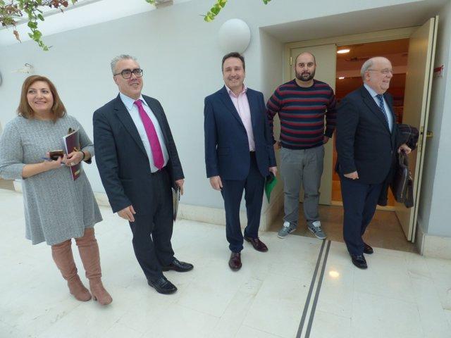 Negociación de los PGC con Juan Ramón Carrancio