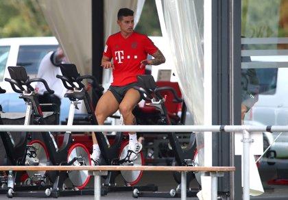 James sufre una lesión de rodilla y será baja durante varias semanas en el Bayern