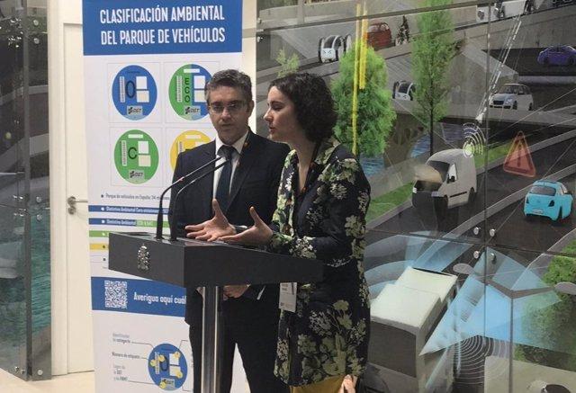 Mercedes Vidal y Jorge Ordás