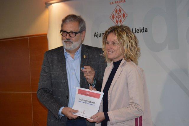 Fèlix Larrosa y Montse Mínguez
