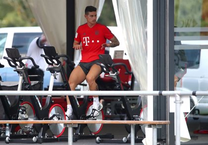 El Bayern pierde a James Rodríguez varias semanas por una lesión de rodilla