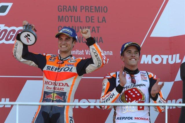 Dani Pedrosa y Marc Márquez (Repsol Honda)