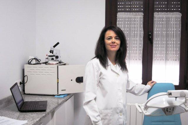 Rosario Correa, presidenta del Colegio Profesional de Podólogos de Andalucía