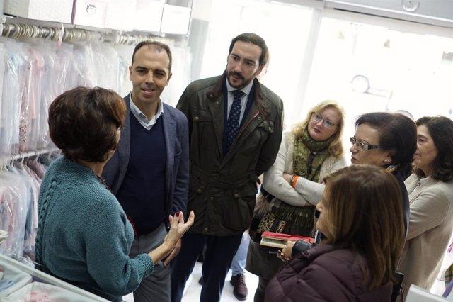 Reunión de Cs Sevilla con comerciantes de Nervión