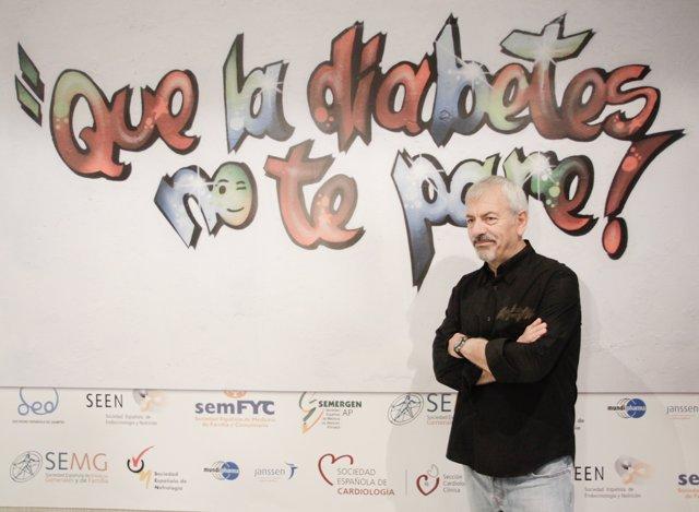 Carlos Sobera protagoniza un 'spot' sobre la prevención de la diabetes
