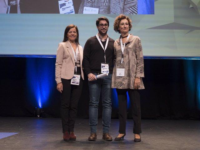 Los premiados en la categoría 'Mejor Comunicación Oral Científica' por la SEFH