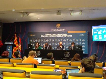 La Generalitat y el FC Barcelona colaboran en la inclusión social de 200 menores no acompañados