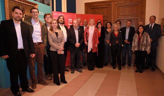 Una delegación de empresas de Brandenburgo ha visitado hoy Zaragoza