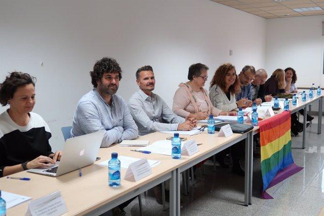 Reunión del Consell LGTBI