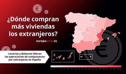 Los extranjeros ya compran casi dos de cada diez viviendas en España: ¿qué zonas prefieren?