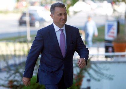 El exprimer ministro macedonio Gruevski pide asilo en Hungría tras su condena por corrupción