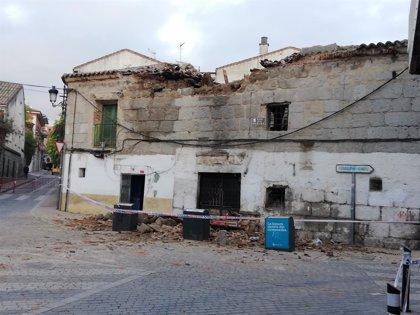 La Casa de la Harina de Colmenar sufre un derrumbe parcial y Cs reclama explicaciones al Gobierno local