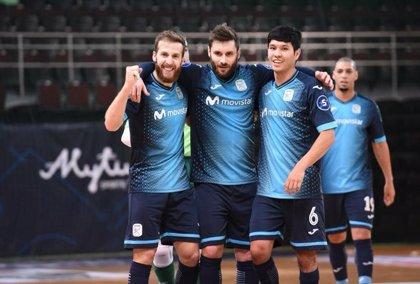 Movistar Inter golea al Dobovec en la Champions de fútbol sala