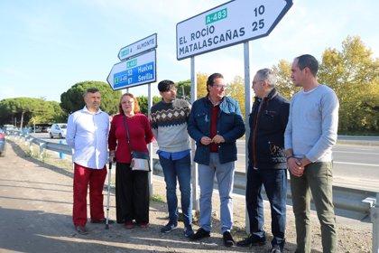 """El PP se compromete a desdoblar la A-483 entre Almonte y Matalascañas, """"una de las carreteras más peligrosas"""" de Huelva"""