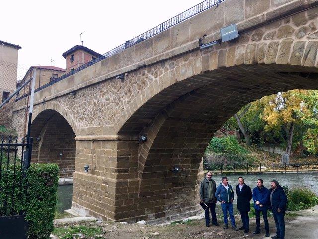 Renovación puente de Cuzcurrita