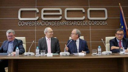 """Durán (PSOE) aborda con CECO la necesidad de """"mejorar las estructuras productivas"""" en Córdoba"""