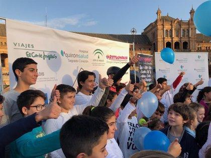 El reto Éibar-Sevilla 72 horas en bici con diabetes Tipo 1 llega este miércoles a la capital andaluza