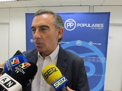 Beamonte (PP) respeta la decisión del PAR de no acudir a la reunión de Casado y dice que la relación es buena