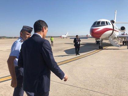 Los servicios de seguridad aconsejan el desplazamiento en avión de Sánchez y su Gobierno a Valladolid