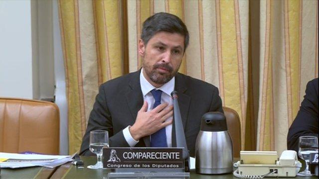 El presidente de Sociedad Civil Catalana, Joan Rosiñol