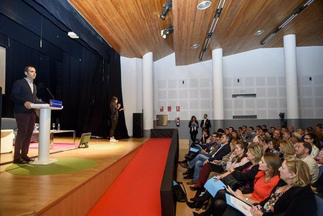 Acto inaugural de la Jornada 'Almería 2030: hacia la normalización social'
