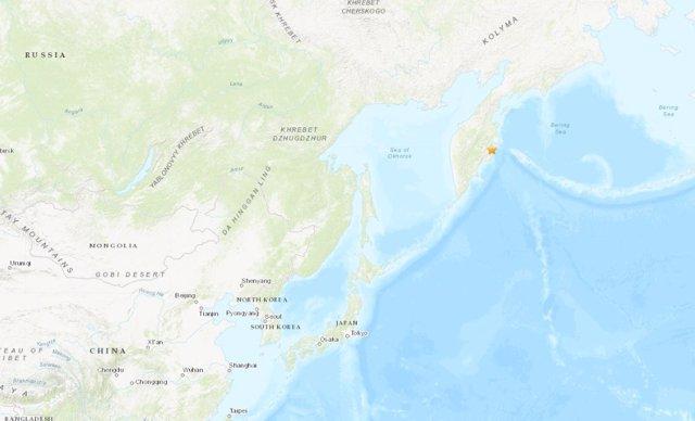 Terremoto en la península de Kamchatka (Rusia)
