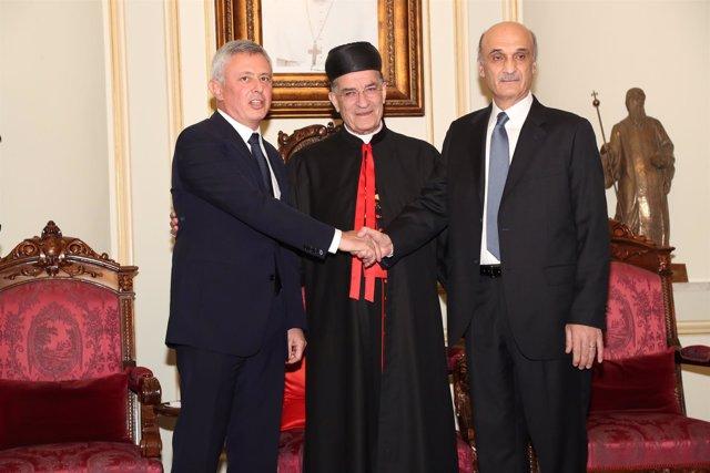 Samir Geagea y Suleiman Franjieh se reconcilian en un acto en Líbano