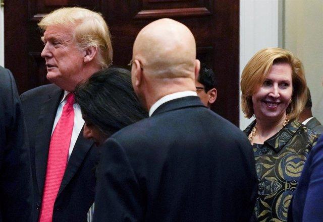 La asesora adjunta para Seguridad Nacional de Estados Unidos Mira Ricardel