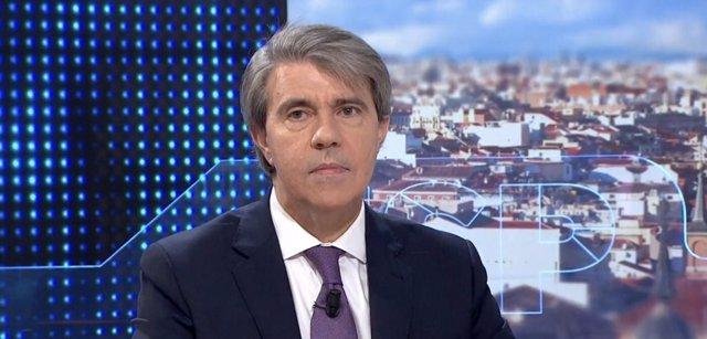 El presidente de la Comunidad de Madrid, Ángel Garrido, en Antena 3