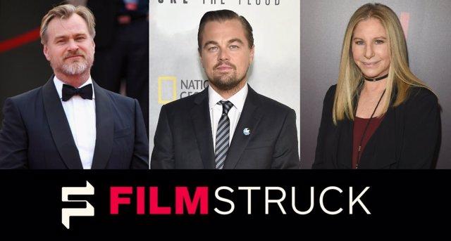 Christopher Nolan, Leonardo di Caprio,  Barbara Streisand