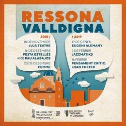 Cartell de Ressona Valldigna