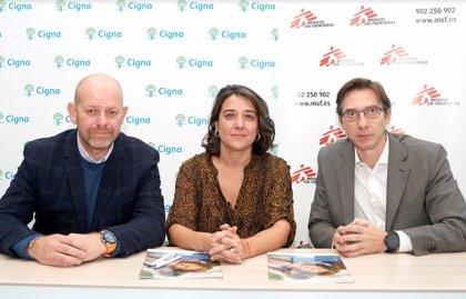 Cigna apoya a Médicos Sin Fronteras en la lucha contra la desnutrición infantil