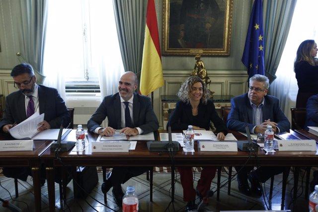 Meritxell Batet en la Conferencia Sectorial de Administración Pública