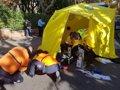 HERIDO GRAVE UN HOMBRE DE 51 ANOS TRAS SER ATROPELLADO POR UN AUTOBUS DE LA EMT EN BARAJAS