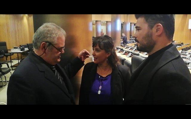 Pontón (BNG) 'agradece' que Rufián defendiese a Ana Miranda y Gómez-Reino zanja el rifirrafe con el diputado de ERC