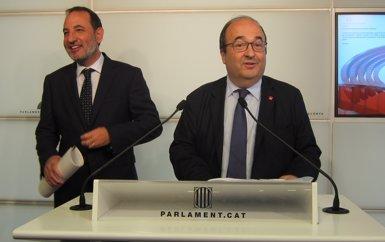 Iceta demanarà a Torra renunciar a la unilateralitat i impulsar reformes dins de la llei (EUROPA PRESS)